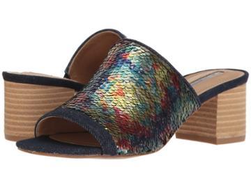 Tahari Daisie (rainbow Sequins) High Heels