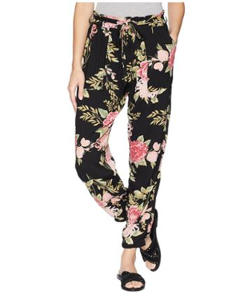 Angie Print Pant (black) Women's Casual Pants