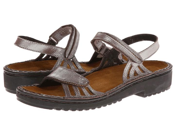 Naot Anika (silver Threads Leather) Women's Sandals