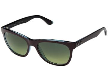 Ray-ban Rb4184 High Street Square 54mm (bordeaux) Fashion Sunglasses