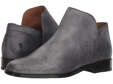 Frye Elyssa Shootie (silver Metallic) Women's Pull-on Boots