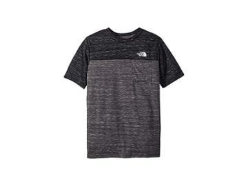The North Face Kids Short Sleeve Pocket Tee (little Kids/big Kids) (tnf Medium Grey Heather) Boy's T Shirt