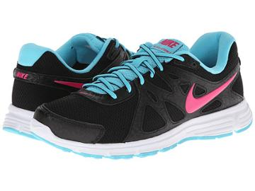 Nike Revolution 2 (black/polarized Blue/white/vivid Pink) Women's Running Shoes