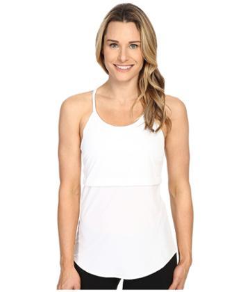 Merrell Passiflora Tank Top (white) Women's Sleeveless