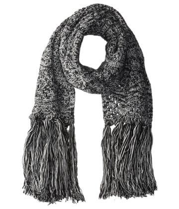 M Missoni Bicolor Chunky Scarf (ivory) Scarves