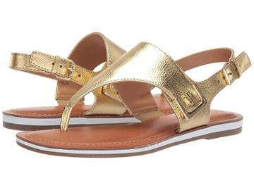 Tommy Hilfiger Gems (gold) Women's Shoes