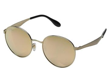Ray-ban Rb3537 51mm (gold Frame/brown Pink Mirror Lens) Fashion Sunglasses