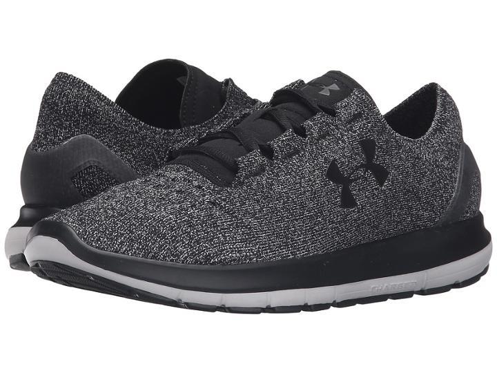 Under Armour Ua Speedform Slingride (glacier Gray/black/black) Men's Running Shoes