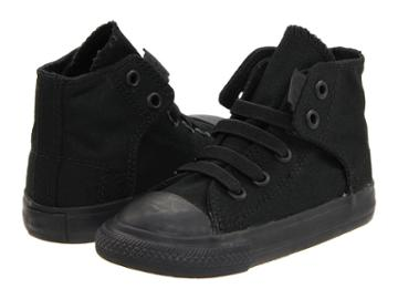Converse Kids Chuck Taylor(r) All Star(r) Easy Slip (infant/toddler) (mono Black) Kids Shoes
