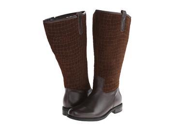 David Tate Best (brown Calfskin/suede) Women's Shoes