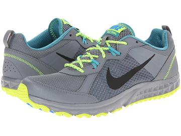 Nike Wild Trail (cool Grey/volt/catalina/black) Men's Running Shoes