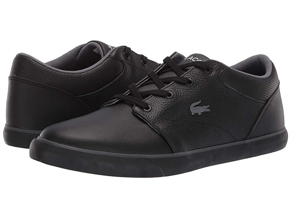 f2ec4b460345 Lacoste Minzah 119 1 P Cma (black black) Men s Shoes