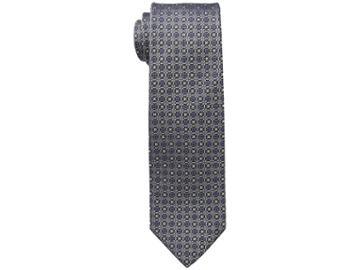 Eton Medallion Tie (silver) Ties