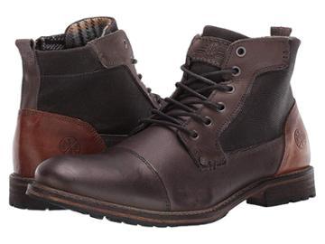 Bullboxer Payll (dark Brown) Men's Shoes