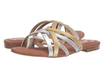 Circus By Sam Edelman Cypress (jute/soft Silver/dark Gold New Raw Edge) Women's Shoes