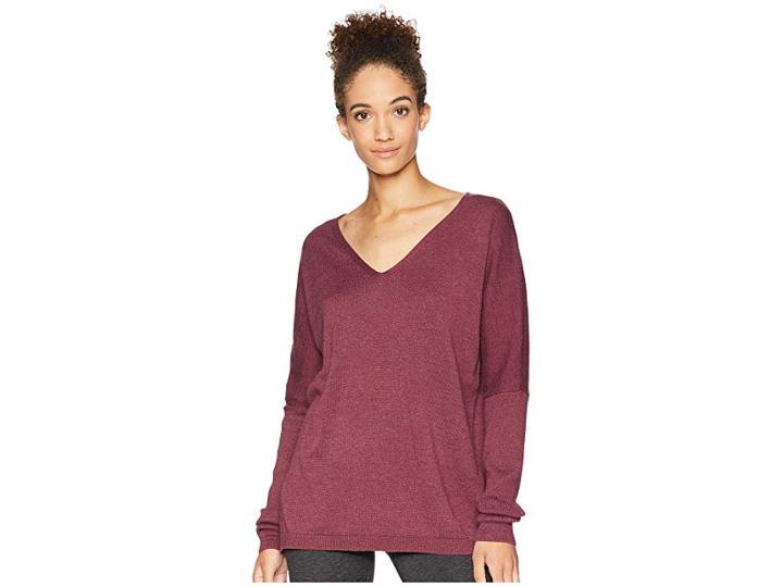 Lole Martha Sweater (windsor Wine Heather) Women's Sweater