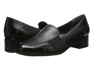 Trotters Arianna (black Patent Leather/burnished Soft Kid) Women's Shoes