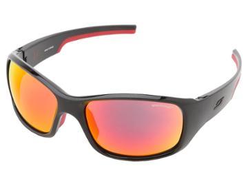 Julbo Eyewear Julbo Stunt Performance Sunglass (black/red With Spectron 3 Color Flash Lens) Fashion Sunglasses