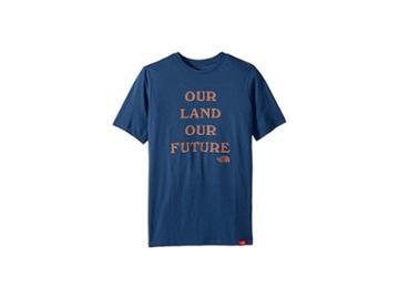 The North Face Kids Short Sleeve Bottle Source Tee (little Kids/big Kids) (shady Blue) Boy's T Shirt