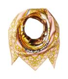 Versace Lion Scarf (pink) Scarves