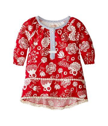 Hatley Kids - Pom Pom Tunics - Field Flowers