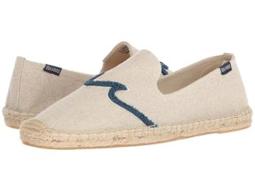 Soludos Waves Smoking Slipper (sand) Men's Slippers