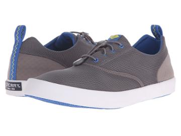 Sperry Flex Deck Cvo (grey) Men's Lace Up Casual Shoes