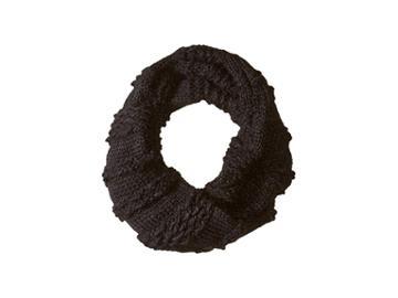Rebecca Minkoff Chunky Neck Warmer (black) Scarves