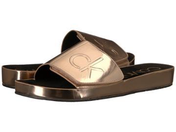 Calvin Klein Marlina (rose Gold) Women's Shoes