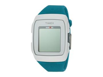 Timex Ironman Gps Silicone Strap (white/blue) Watches