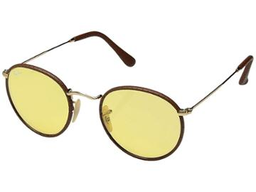 Ray-ban Rb3475q 50 (brown/yellow Photocromatic) Fashion Sunglasses