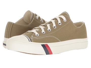 Keds Pro-keds Royal Lo Canvas (olive) Men's Shoes