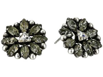 Dannijo Janus Earrings (grey) Earring