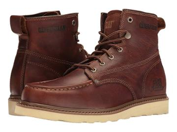 Caterpillar Casual Glenrock Mid (peanut) Men's Work Boots