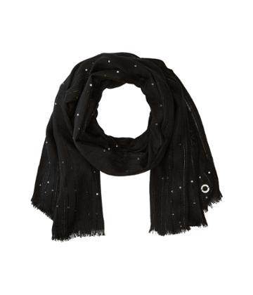 Calvin Klein Sequin Texture Scarf (black) Scarves