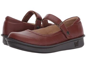 Alegria Belle (pecan) Women's Maryjane Shoes