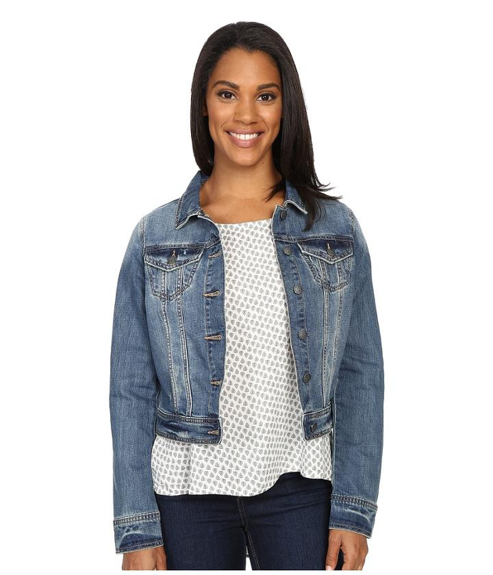 Prana Dree Jacket (antique Blue) Women's Jacket