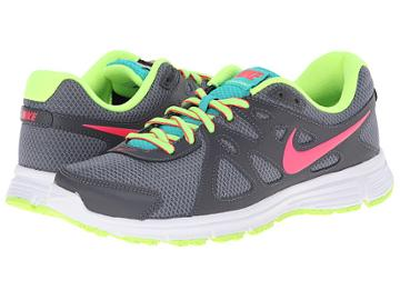Nike Revolution 2 (cool Grey/dark Grey/white/hyper Punch) Women's Running Shoes