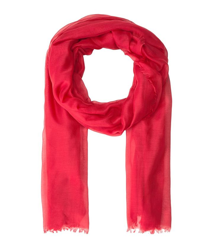 Collection Xiix Solid Soft Wrap Scarf (red Clay) Scarves
