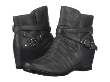 Baretraps Qui (dark Grey Microfiber) Women's Shoes