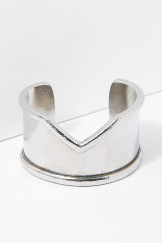 7 For All Mankind Venus Cuff In Silver