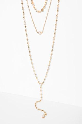 7 For All Mankind Starman Necklace In Gold