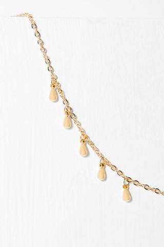 7 For All Mankind Willa Necklace In Gold