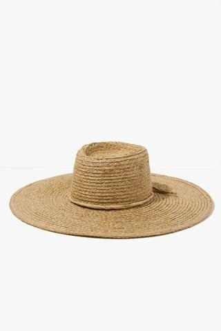 7 For All Mankind Paite Hat In Tan