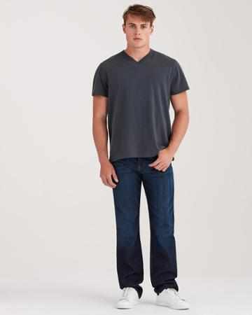 7 For All Mankind Men's Austyn Relaxed Straight In Los Angeles Dark 36 Inseam