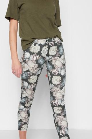 7 For All Mankind Ankle Skinny In Amsterdam Floral