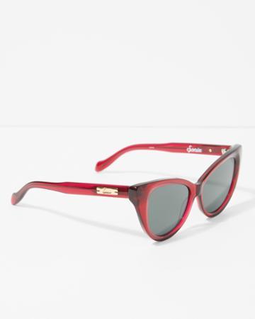 7 For All Mankind Sonix Kyoto Sunglasses In Crimson