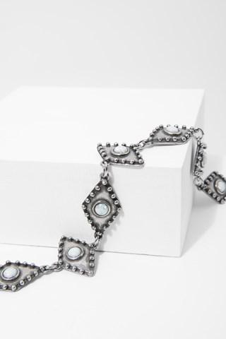 7 For All Mankind Wild Eyes Choker In Silver