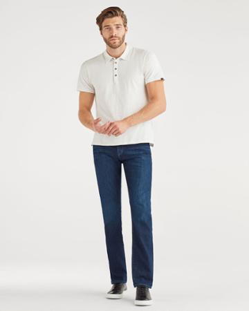 7 For All Mankind Men's Airweft The Straight With Clean Pocket In Venice