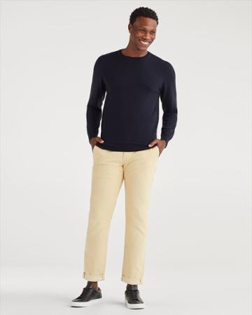 7 For All Mankind Men's Corduroy Slim Chino In Maple